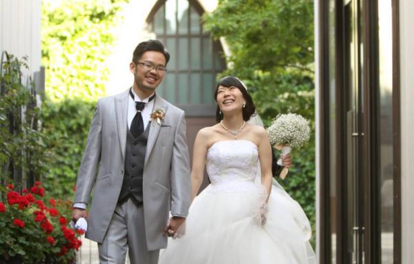妻との結婚は、私の一番の幸運です。磨里子、いつも本当にありがとう。